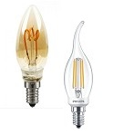 Lampes flamme LED